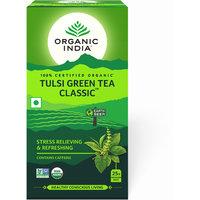 Organic India Tulsi Green 25 Tea Bags