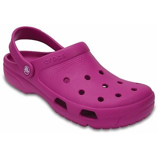 Crocs Purple Men Clogs