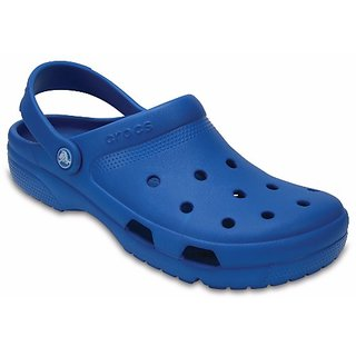 Crocs Blue Men Clogs