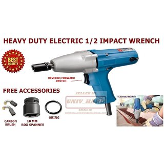 General tools HEAVY DUTY ELECTRIC 1/2 IMPACT WRENCH