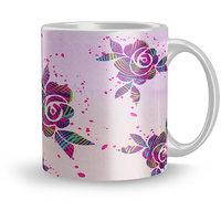 Dreamcart Designer  320ml Ceramic Printed mug Gift For girls Gift For teenage girls Coffee mugs for gift