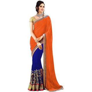 Bhuwal Fashion Multicoloured Georgette Saree