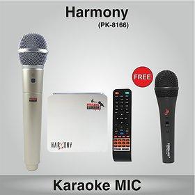 Harmony (With Single Wireless karaoke Microphone)