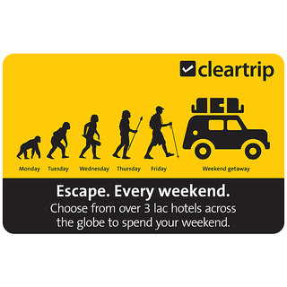 Cleartrip Hotels Gift Card (Payable Only Via Jio Wallet)