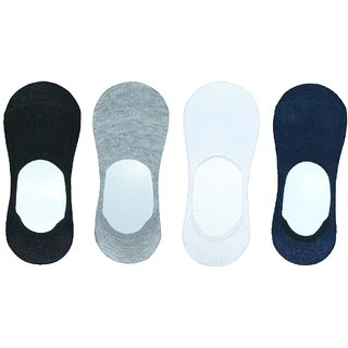 Pair of 12 Cotton Socks - Loafer socks - unisex socks with Multicolour