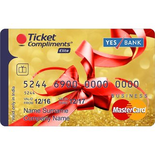 Ticket Compliments Elite Gift Card Worth Rs. 10000 (Payable Only Via Jio Wallet)
