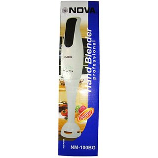 Nova NM-100BG 600 W Hand Blender (White)
