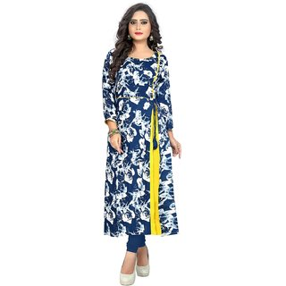 Buy Kurtis For Women Latest Low Price Designer Party Wear Blue And