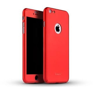 RKR Ipaky Back Cover For  iPhone 6 Plus ( Red )