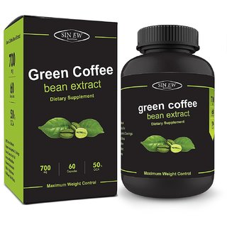 Sinew nutrition 60 Caps Green Coffee Beans Extract