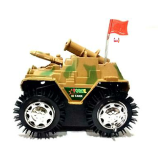 OH BABY Battery Operated Toy Tank PEACH COLOR TANK FOR YOUR KIDS SE-ET-40