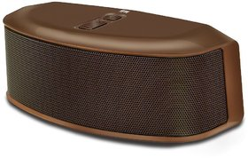 Iball Soundstar BT9 Portable Bluetooth Mobile/Tablet Speaker  (Brown, Stereo Channel)
