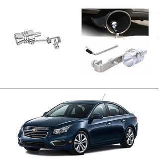 AutoStark Turbo Sound Whistle Exhaust Pipe Blowoff Valve Simulator For Chevrolet Cruze