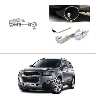 AutoStark Turbo Sound Whistle Exhaust Pipe Blowoff Valve Simulator For Chevrolet Captiva