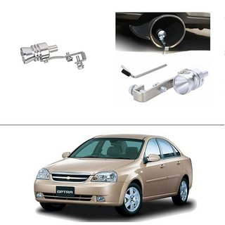 AutoStark Turbo Sound Whistle Exhaust Pipe Blowoff Valve Simulator For Chevrolet Optra