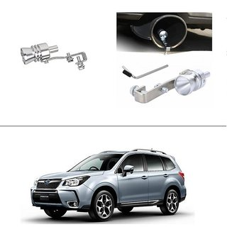 AutoStark Turbo Sound Whistle Exhaust Pipe Blowoff Valve Simulator For Chevrolet Forester