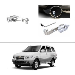 AutoStark Turbo Sound Whistle Exhaust Pipe Blowoff Valve Simulator For Chevrolet Tavera
