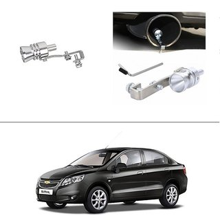 AutoStark Turbo Sound Whistle Exhaust Pipe Blowoff Valve Simulator For Chevrolet Sail