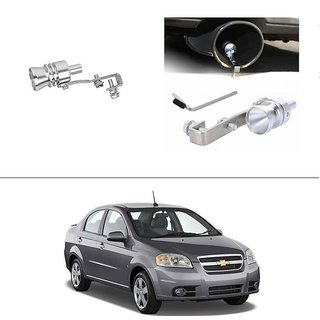 AutoStark Turbo Sound Whistle Exhaust Pipe Blowoff Valve Simulator For Chevrolet Aveo