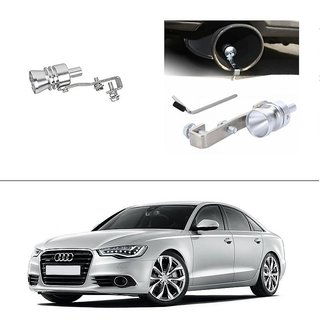 AutoStark Turbo Sound Whistle Exhaust Pipe Blowoff Valve Simulator For Audi A6