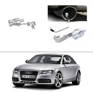 AutoStark Turbo Sound Whistle Exhaust Pipe Blowoff Valve Simulator For Audi A4