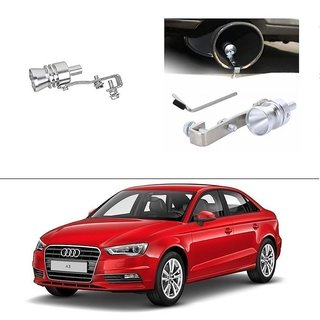 AutoStark Turbo Sound Whistle Exhaust Pipe Blowoff Valve Simulator For Audi A3