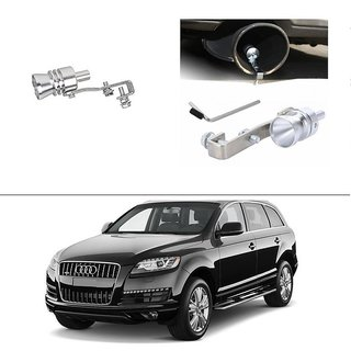 AutoStark Turbo Sound Whistle Exhaust Pipe Blowoff Valve Simulator For Audi Q7