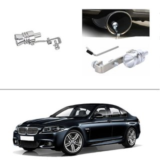 AutoStark Turbo Sound Whistle Exhaust Pipe Blowoff Valve Simulator For BMW 5-Series