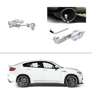 AutoStark Turbo Sound Whistle Exhaust Pipe Blowoff Valve Simulator For BMW X-6