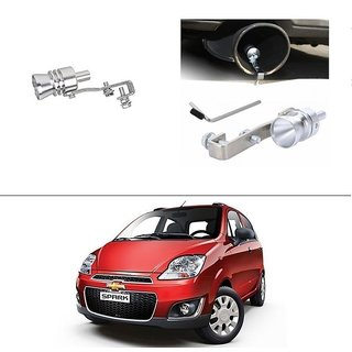 AutoStark Turbo Sound Whistle Exhaust Pipe Blowoff Valve Simulator For Chevrolet Spark