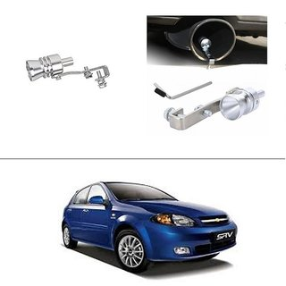 AutoStark Turbo Sound Whistle Exhaust Pipe Blowoff Valve Simulator For Chevrolet Optra SRV
