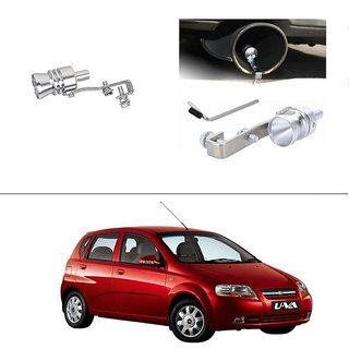 AutoStark Turbo Sound Whistle Exhaust Pipe Blowoff Valve Simulator For Chevrolet Aveo Uva