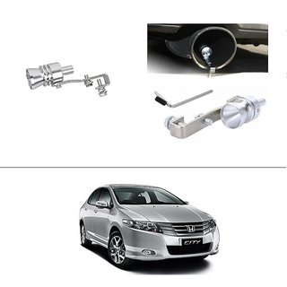 AutoStark Turbo Sound Whistle Exhaust Pipe Blowoff Valve Simulator For Honda City ZX