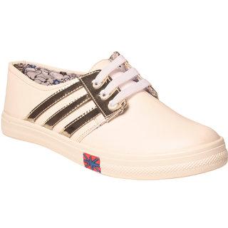 MSC Women Synthetic Gold Shoe
