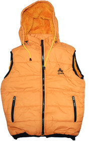 AD & AV Jacket Sleeveless Orange