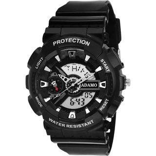 ADAMO Sports Digital-Analog Men's Wrist Watch AD22RB02