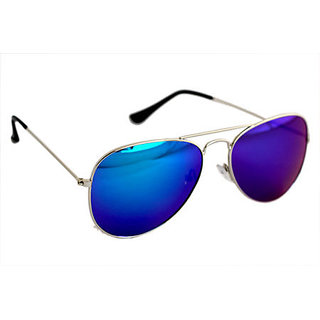Derry Blue Aviator Men Sunglasses