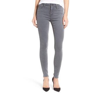 Ansh Fashion Wear Women's Grey Denim Jeans