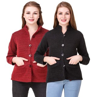 a29ece96347 Buy Hardy s Collection Multicolor Solid Woolen Coats for women Online - Get  55% Off
