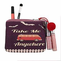 The Crazy Me Take Me Anywhere Make Up/Coin Pouch
