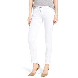 Ansh Fashion Wear Womens White Denim Jeans