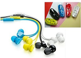 In the Ear Wired Colored Earphones