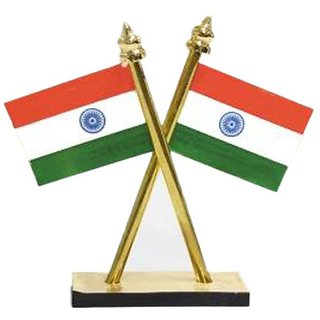 Rooq INDIAN FLAG for car and office