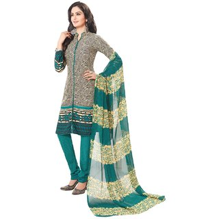 Salwar House Women's Multicolor Cotton Printed Unstitch Dress material Salwar Suit with Dupatta (Unstitched)