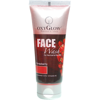 Oxyglow Strawberry Face Wash 100g
