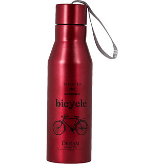 Modish Stainless Steel Double wall Printed Bottle - Hot  Cold 500 ml