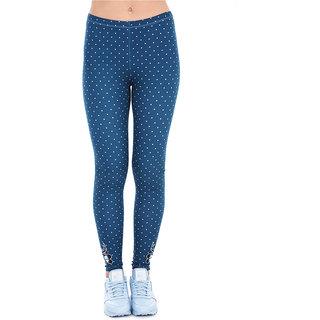 59bbdb3c1f92 Women Fashion Legging Round Printing leggings Slim High Waist Leggings Woman  Pants (One size)