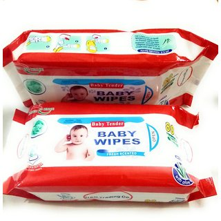 BUY 1 GET 1 BABY WIPES WITH ALOEVERA(Special deal for you)
