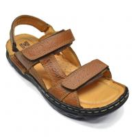 Red Chief Tan Slip On Casual Sandal