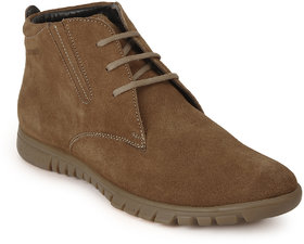 Red Chief Rust Men High Ankle Outdoor Casual Leather Shoes (RC3503 022)